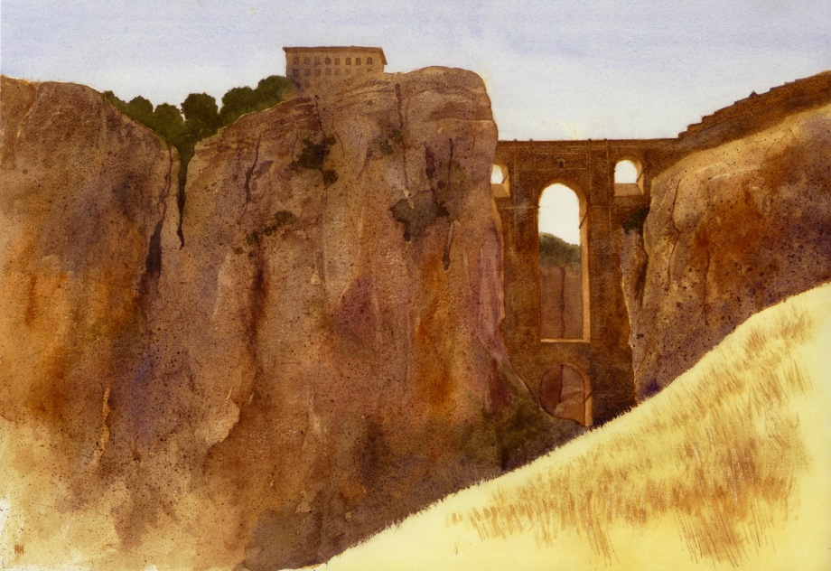 Ronda afternoon ,watercolour 72dpi.jpg