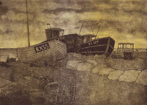 Hastings state 6 monoprint 3 plate wiped in black and rolled in yellow 72dpi